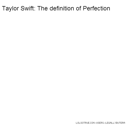 Taylor Swift: The definition of Perfection