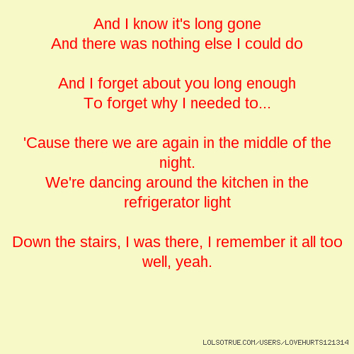 I was there remember it all too well lyrics