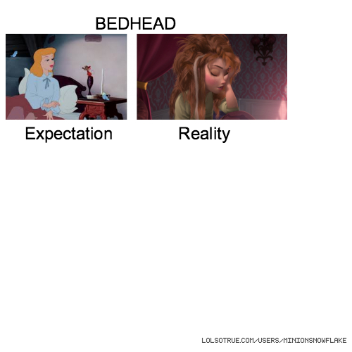 BEDHEAD Expectation Reality