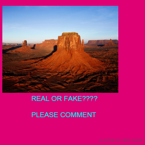 REAL OR FAKE???? PLEASE COMMENT