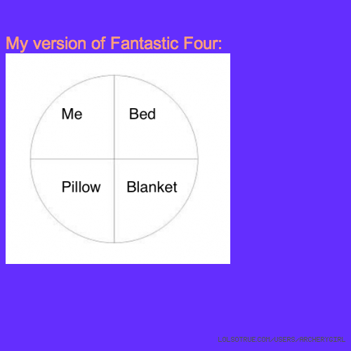 My version of Fantastic Four: