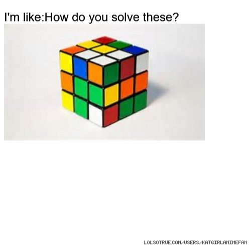 I'm like:How do you solve these?