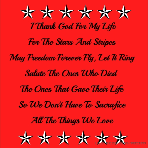 I Thank God For My Life