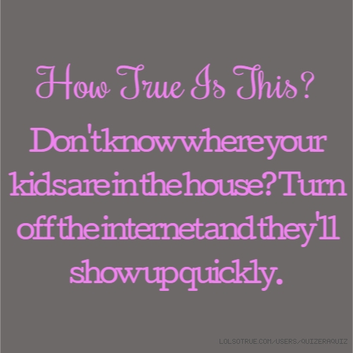 How True Is This?