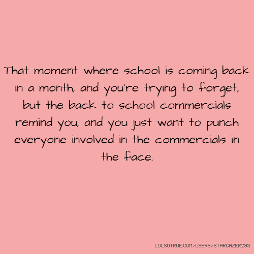 Go Back To School Tumblr Quote ~ Inspiring Quotes and words In Life