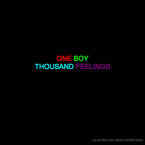 ONE BOY THOUSAND FEELINGS